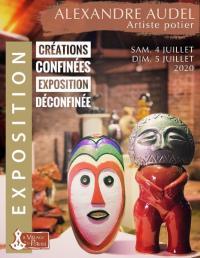 La poterie Trois ilets : 4-5 juillet 2020;  Créations confinées, Exposition déconfinée