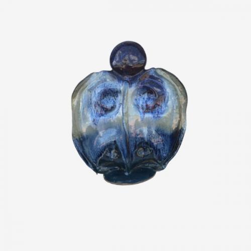Sculpture bleue