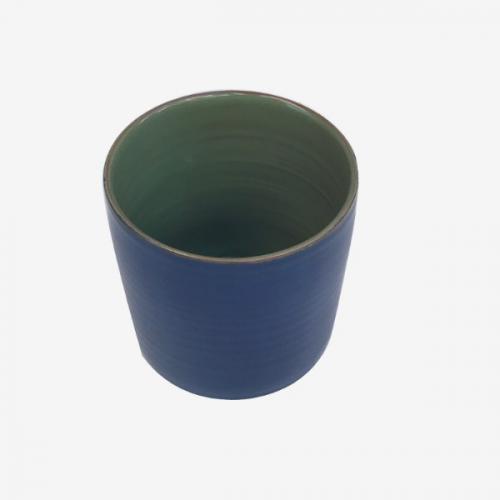 Mug bleu berlin et vert olive