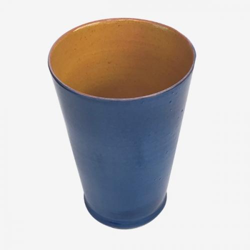 Mug bleu paon